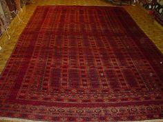 Unusual antique Persian Baluchestan rug, gallery size 7.11 x 14.7, circa 1910