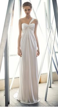 Empire-line-wedding-dress-by-Mira-Zwillinger