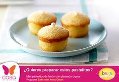 mini pastelitos de limón