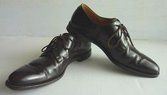 Church's dark #brown #leather derby capital paris mens shoes, uk #10.5, width f,  View more on the LINK: http://www.zeppy.io/product/gb/2/121767086672/