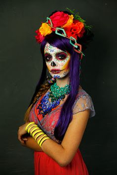 Day of the Dead Catrina Make Up