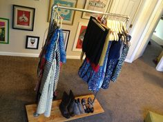 Get Rich or DIY Tryin': Industrial Clothing Rack