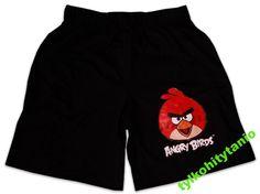 Angry Birds 11/12 lat szorty spodenki NOWE 146 cm