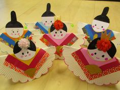 Paper Plate Art, Paper Plates, Boys Day, Girl Day, Hina Dolls, Japan Crafts, Toy Boxes, Preschool Crafts, Japanese Girl