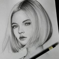 Supreme Portrait Drawing with Charcoal Ideas. Prodigious Portrait Drawing with Charcoal Ideas. Pencil Art Drawings, Realistic Drawings, Art Drawings Sketches, Drawing Faces, Drawing Art, Drawing Ideas, Female Drawing, Girl Drawings, Pencil Portrait Drawing