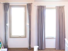 Marvelous Cool Tips: Velvet Curtains Spaces charcoal velvet curtains.No Sew Curtains Tags drapes curtains bay window.No Sew Curtains Master Bath. Custom Drapes, Decor, How To Make Curtains, Cheap Curtains, Curtains, Curtain Decor, Curtains And Draperies, Hanging Curtains, Lace Curtains