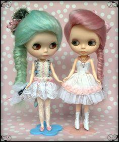Blythe Twins ;)   da Dollymama <3