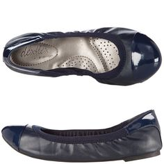 Womens - dexflex by Dexter - Women's Claire Scrunch Flat - Payless Shoes { I have these in nude- I want every color they are so comfy}
