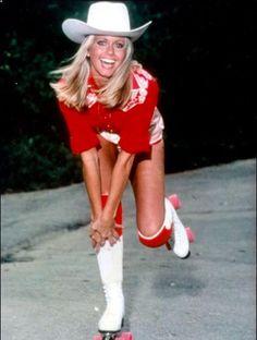 Disco : les roller girls des 70's Olivia Newton-John