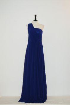 Vestido Fiesta Largo Jovita Azul