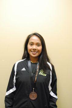 Maria Tayag  Assitant Coach (Women's Soccer) Athletics, Rain Jacket, Windbreaker, Soccer, Jackets, Fashion, Down Jackets, Moda, Futbol