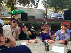 """Outside the Box: Margarita Party with a Pirate Twist. Come see the pictures of our annual party on """"Talk Like a Pirate Day. Pirate Day, Pirate Theme, Margarita Party, Pirates, Captain Hat, Box, Pictures, Photos, Snare Drum"""