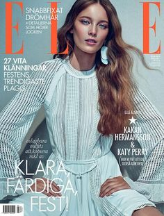 Elle Sweden May 2015 Mildred Gustafsson by Boe Marion