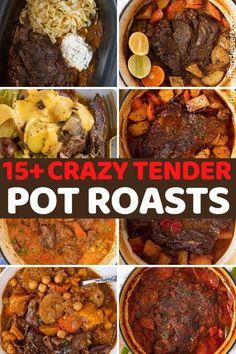 Slow Cooker Roast, Crock Pot Slow Cooker, Slow Cooker Recipes, Cooking Recipes, Top Recipes, Spicy Recipes, Yummy Recipes, Cooking Tips, Free Recipes