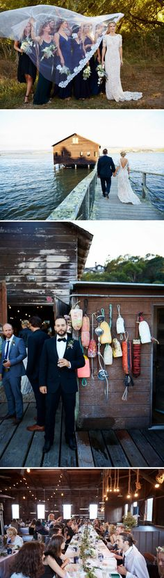 DIY Inverness Wedding Boathouse. #wedding #wed #ido