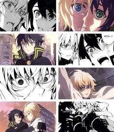 Manga vs Anime | Mika and Yu | Owari no Seraph