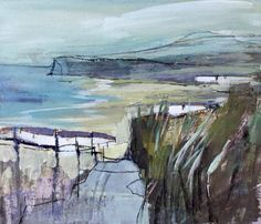 Dianne Alicia Gardner . Saltburn ( from Yorkshire Sketchbook)