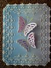 pergamano butterfly card