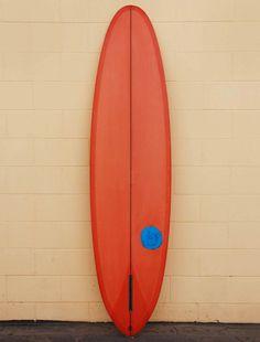 "Ryan Lovelace 7'4"" Orange vBowl Surfboard"