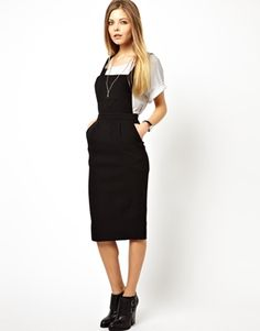 Image 1 of ASOS Column Dress