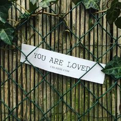 Positive Reminders of The Day: You Are Loved!