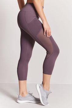 Product Name:Active Mesh-Panel Capri Leggings, Category:Activewear, Price:17.9
