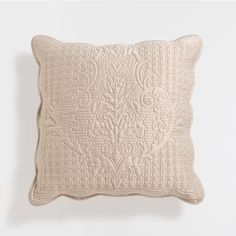 Cushion with a raised damask design - Cushions - Bedroom | Zara Home United Kingdom