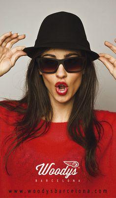 Red Girl- WOODYS BARCELONA-