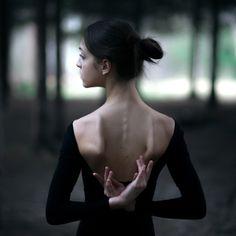 Ballerina by Anastasia Kuznetsova, via Behance