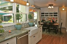 "spanish style kitchens | It just had a lot of charm,"" Gretchen said, including original ..."