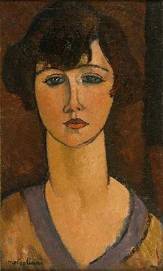 Amedeo MODIGLIANI, Portrait d'Elisabeth