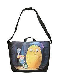 HOTTOPIC.COM - Adventure Time Rainy Bus Stop Messenger Bag