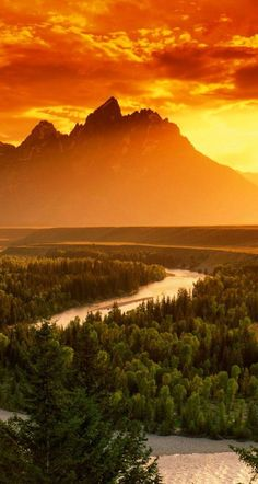 Grand Teton National Park, USA #by www.touchn2btouched.tumblr.com