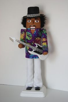 Really Cool Nutcrackers: Jimi Hendrix Nutcracker
