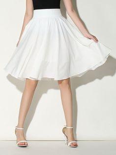 Pink High Waist Pleated Skirt | My Style | Pinterest | High waist ...