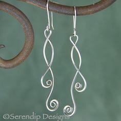 Sterling Silver Gillian Earrings