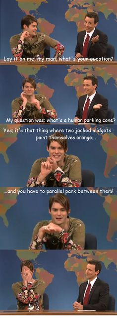I can't stop laughing! possibly one of my fave SNL skits of all time!
