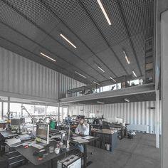 Офис из контейнеров от архитектурной компании Arcgency в Копенгагене