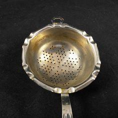 Tea strainer vintage tea strainer metal tea strainer tea party