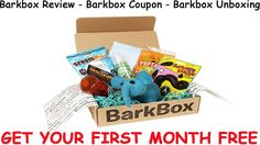 Barkbox Review - Barkbox Coupon - Barkbox Unboxing | Get Your First Month FREE