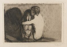Edvard Munch - CONSOLATION, 1894
