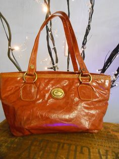 Dooney and Burke vintage leather purse by MountainGypsyBazzar, $48.00