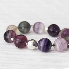 Hey, I found this really awesome Etsy listing at https://www.etsy.com/listing/188125748/fluorite-sterling-statement-bracelet