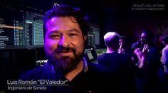 Luis Román ingeniero de sonido de México