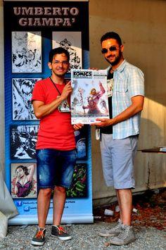 Komics 2015 Reggio Calabria #komics #fumetti #fumettisti #reggiocalabria #grammateca