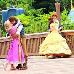 Throw in Tiana and you have my three favorite princesses