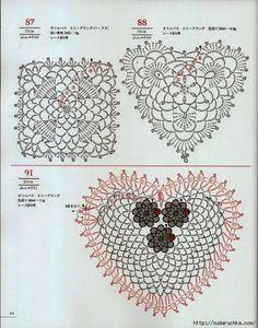 Crochet e le arti: uncinetto Hearts motivi