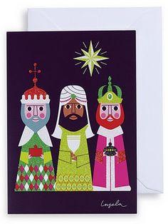 3 kings by Ingela P Arrhenius from lagomdesign