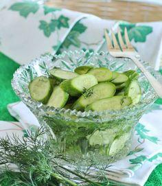 Finnish Cucumber Salad/ Kurkkusalaatti