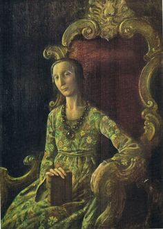 Rex Whistler - Portrait of Edith Sitwell
